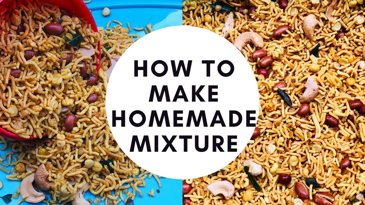 Mixture Receipe in Tamil | How To Make Homemade Mixture | Four Jiblings