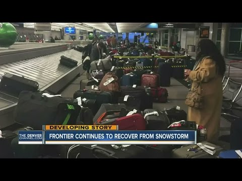 Frontier Airlines says bags on way; pilots union head says airline 'fell on its face'
