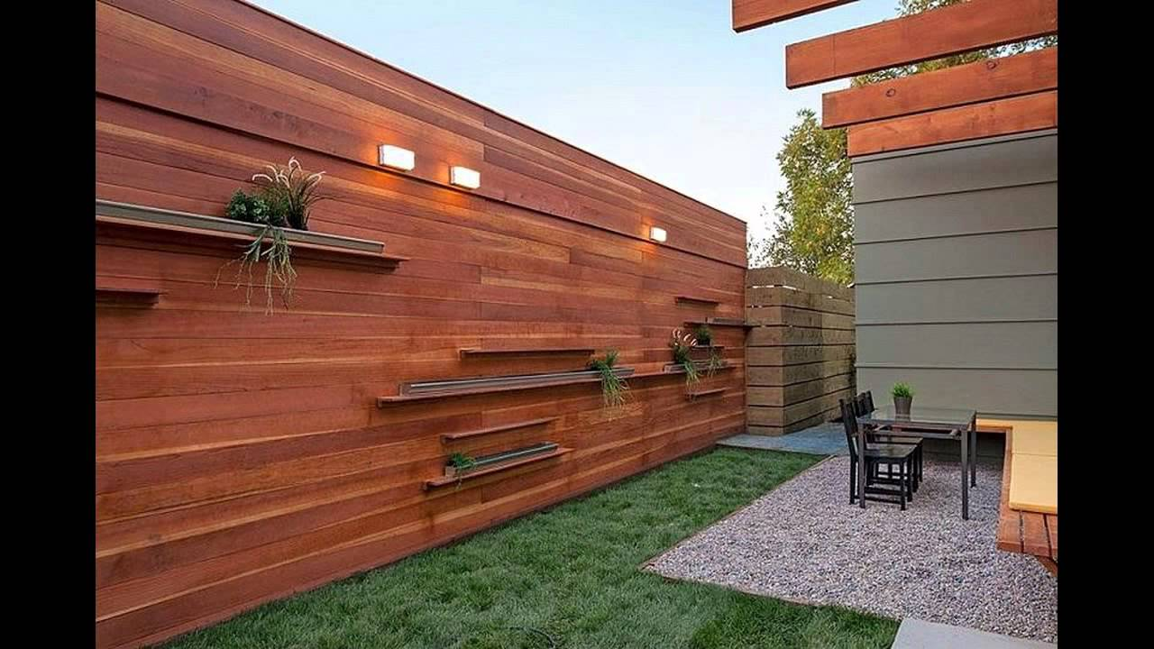 Wood Fence Paint Colors Youtube