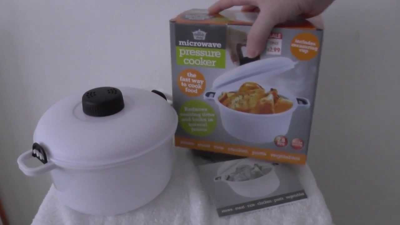 Microwave Pressure Cooker A Quick First Impression Before Use
