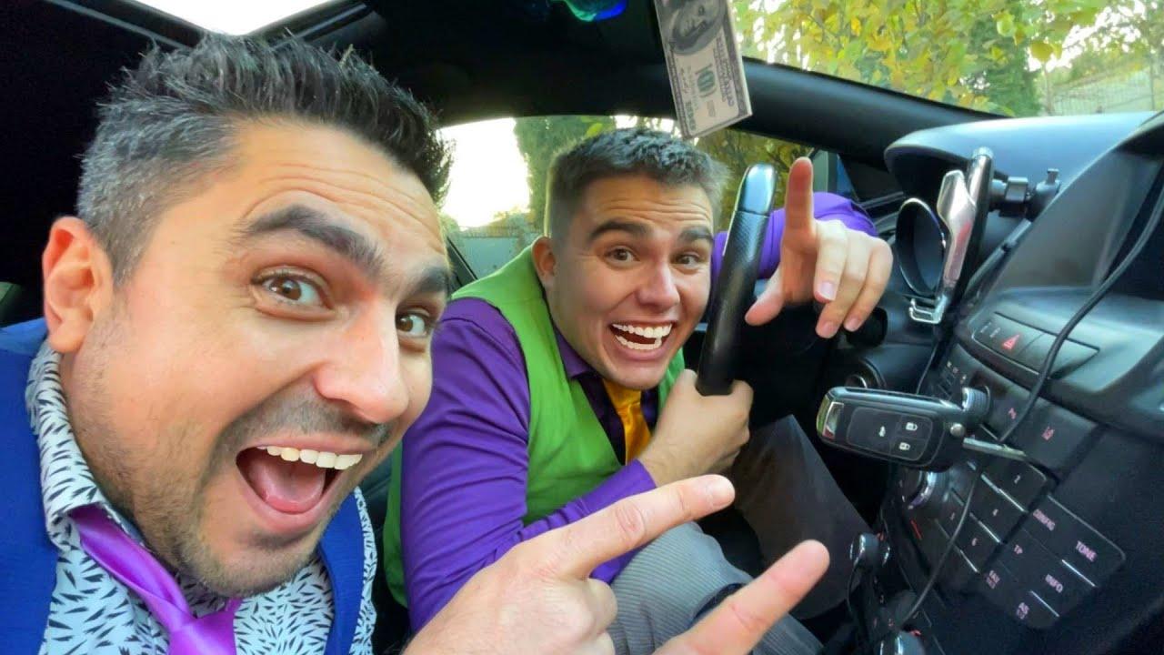 Thief Mr. Joker Stole Car Keys & Sports Car VS Mr. Joe on Opel 13+