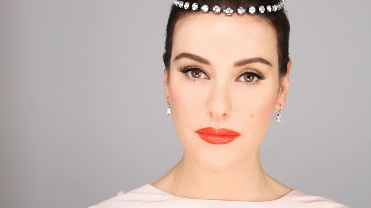 Audrey hepburn 1950s inspired makeup tutorial youtube baditri Images