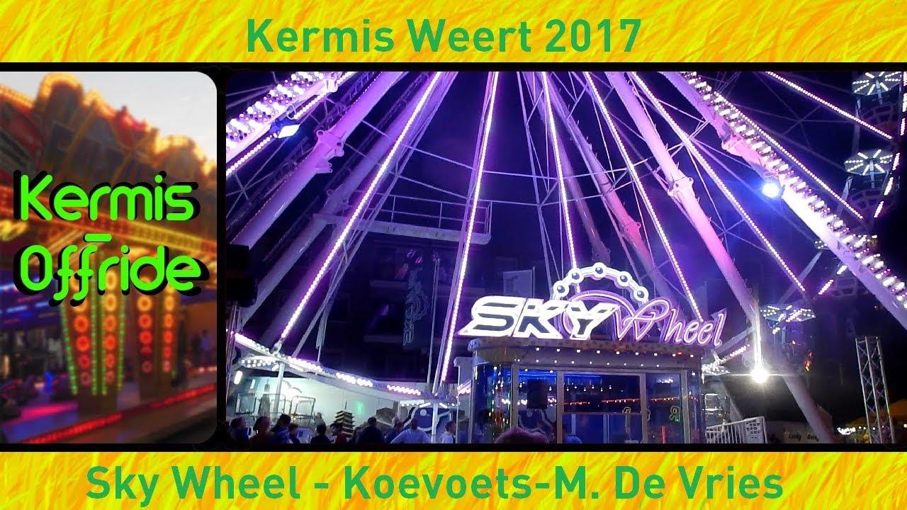 Sky Wheel Koevoets M De Vries Offride In De Avond Kermis Weert