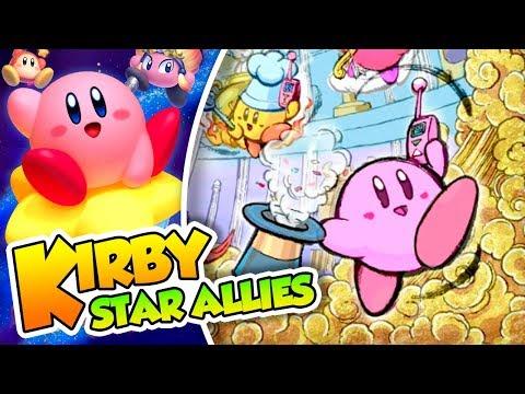 ¡Tontacos allies! - #11 -Kirby Star Allies en español (Switch) con Naishys