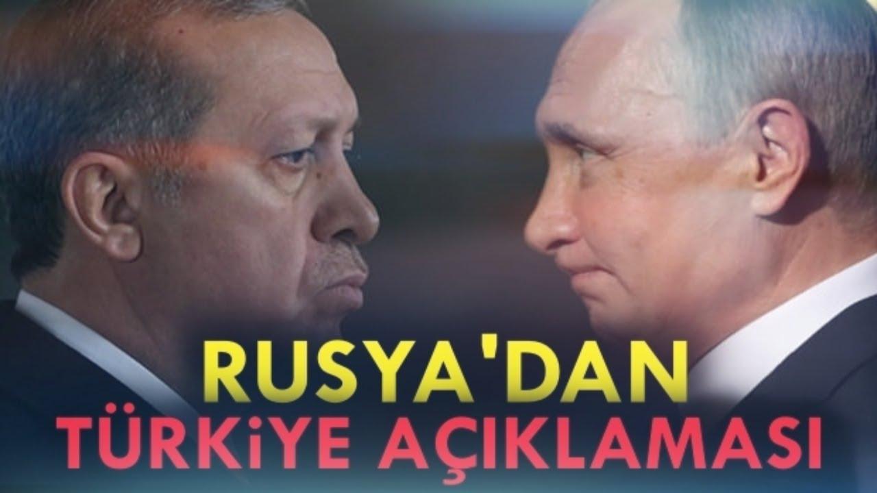 Erdoğan'ın Moskova Ziyareti Öncesi,Rusya'dan Flaşş Türkiye Açıklaması..SON DAKİKA