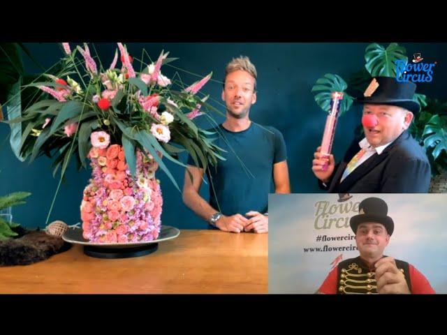 Flower Circus Online Show with Michael van Namen
