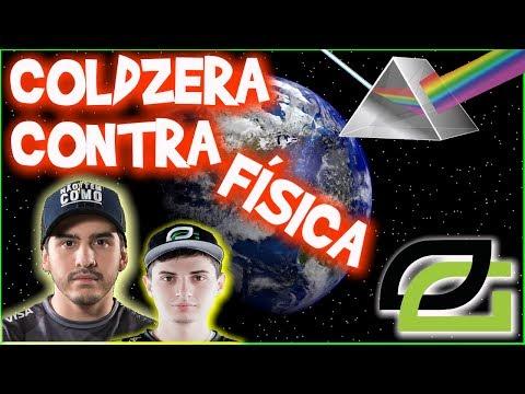 TORCEDOR ROXO SK GAMING + COLDZERA CONTRA AS LEIS DA FÍSICA