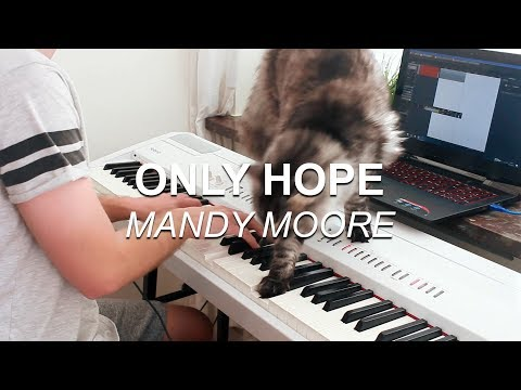 Only Hope Mandy Moore, A Walk to Remember  Piano   Joel Sandberg and his cat + Lyrics
