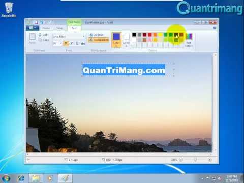 Thay đổi nền màn hình đăng nhập Windows 7