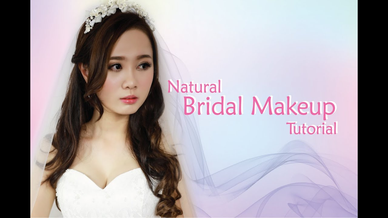 Make Up Wedding Natural Korea : Natural Bridal Makeup - YouTube