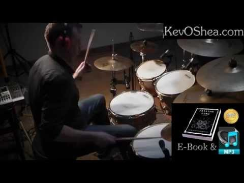 Free Drum Lessons | Halftime Linear Drumming Pattern