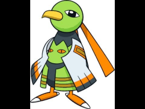 Shiny Xatu in 583 Friend Safari Encounters In Pokemon Y