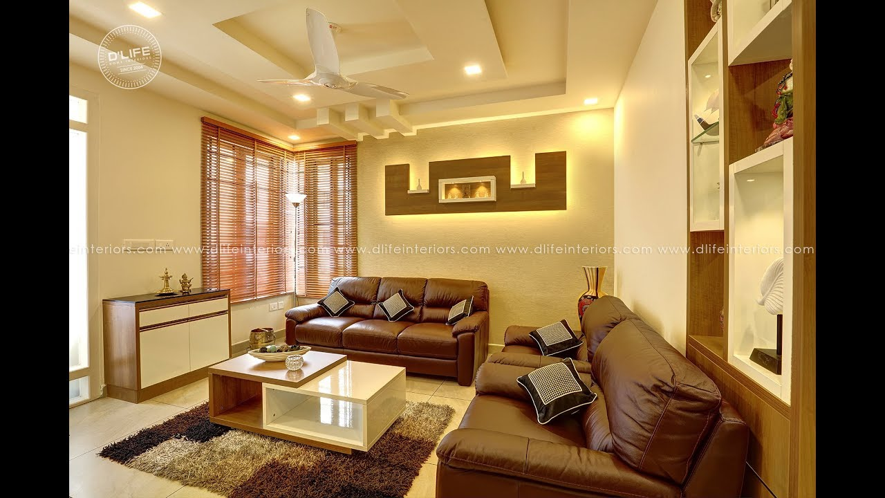 Home Interior Designing In Ernakulam Kerala By D Life For Client Mr Anup Youtube