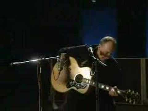 Pete Townsend acoustic Won't Get Fooled Again