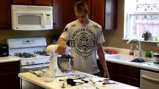 Making Gingerbread Men/lebkuchen Man In German/deutsch