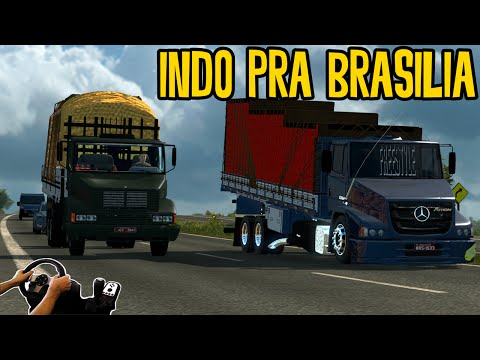 INDO PRA BRASILIA - ATRON 2324 - BOTANDO PRESSÃO NA BR153 - VOLANTE G27
