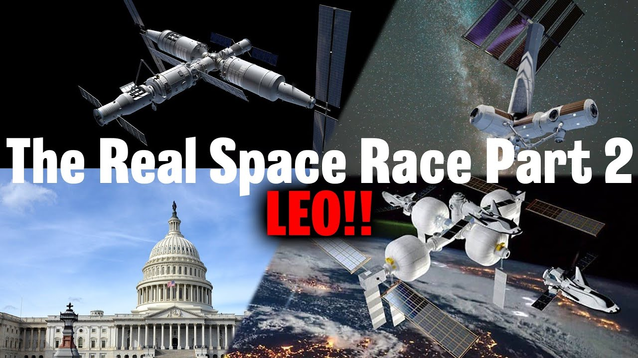 SpaceX & Axiom vs Sierra Space & ULA vs China - THE NEW SPACE RACE Pt 2 - Who will dominate LEO?