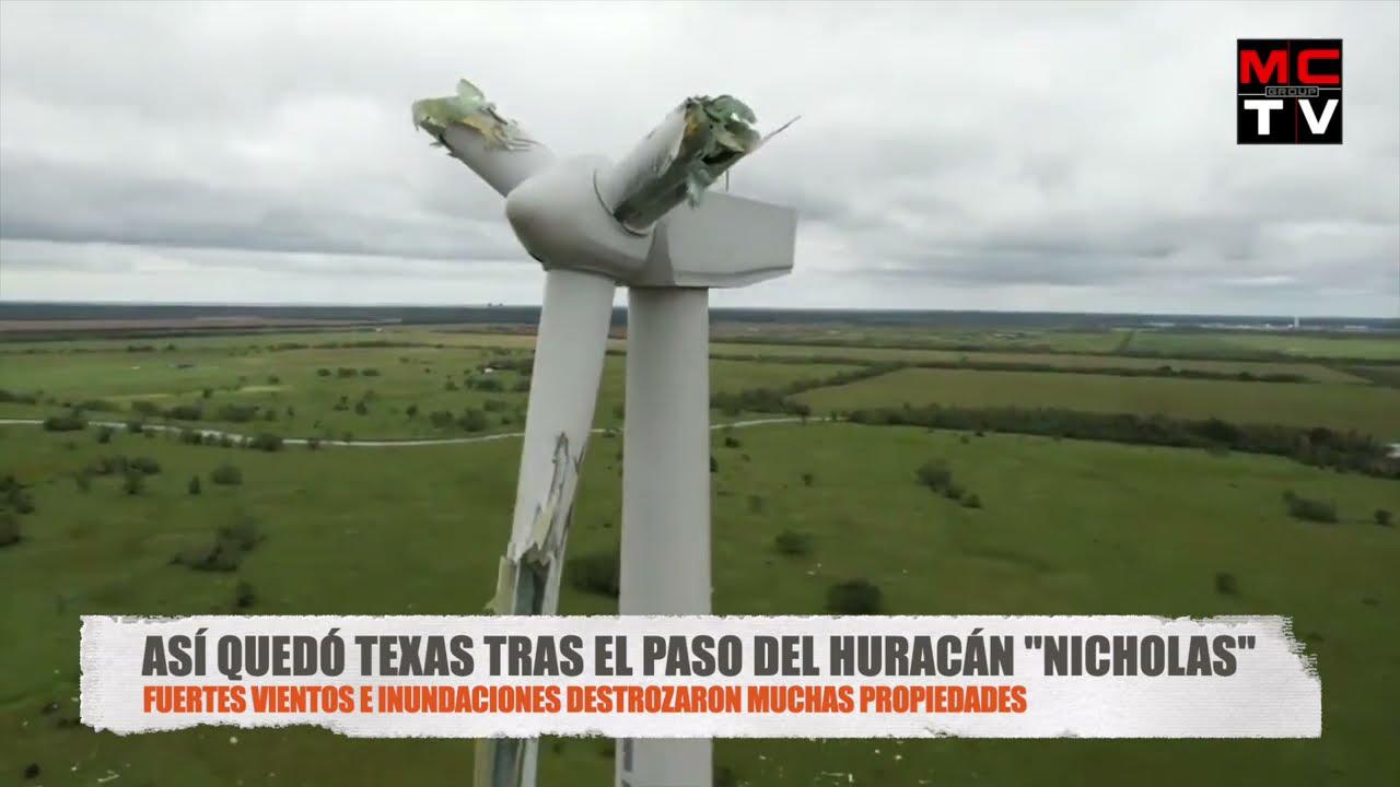 🚨 ÚLTIMA HORA: Así quedó Texas por el Huracán Nicholas (Inundación Estados Unidos) Noticias Tormenta