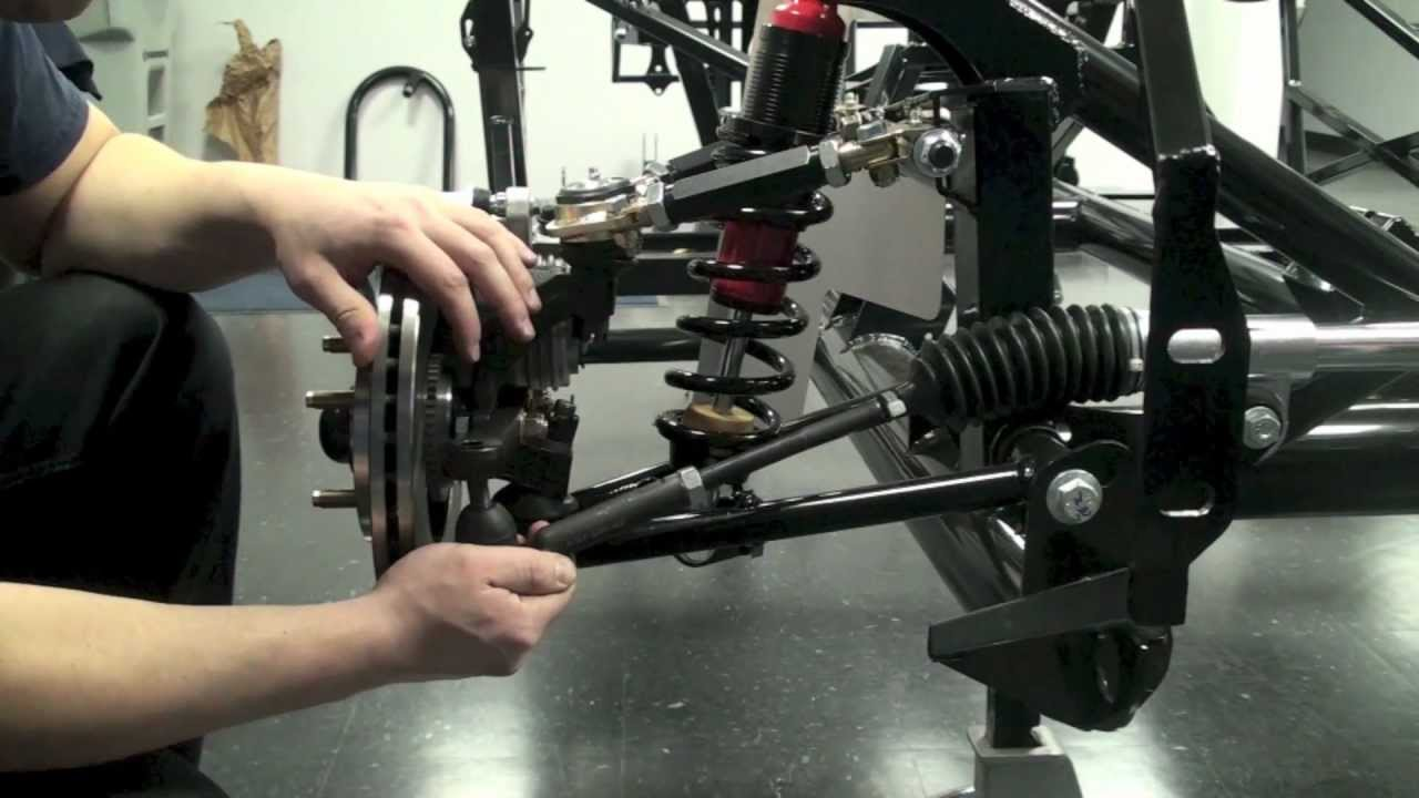 Factory Five Mk4 Build Episode 4 Steering System Youtube