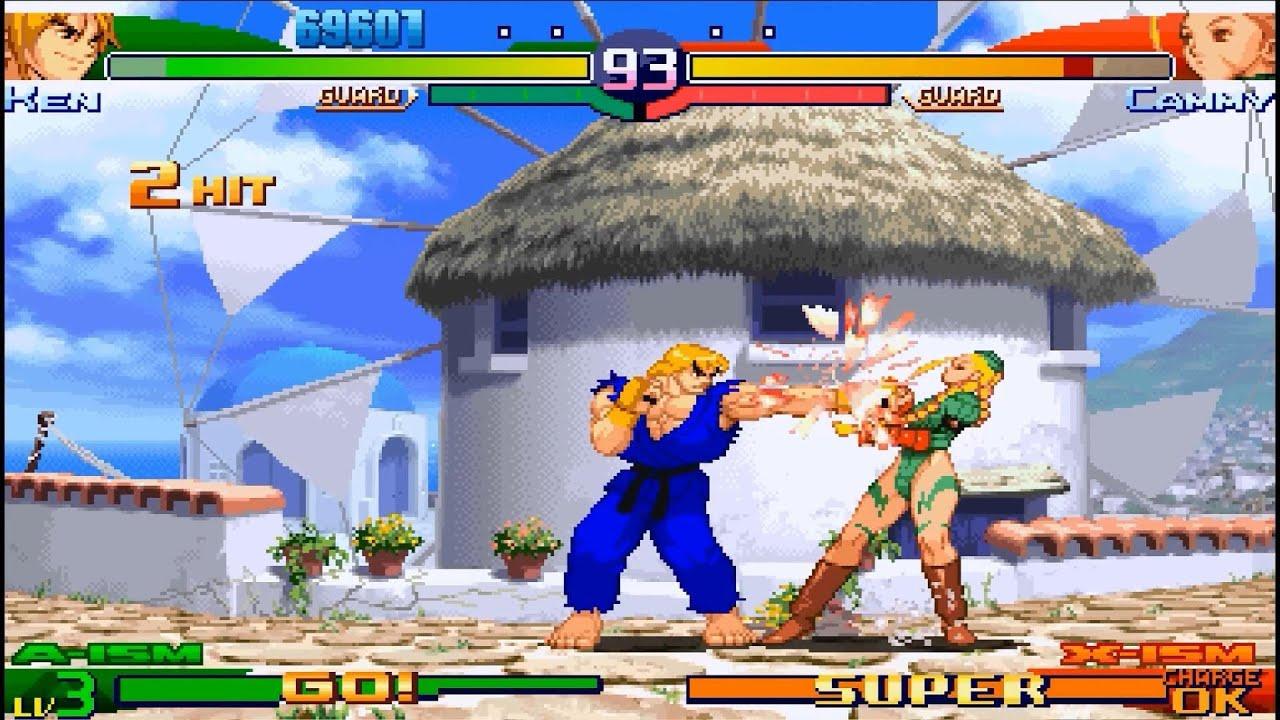 Street Fighter Alpha 3 Max – DroidTrix