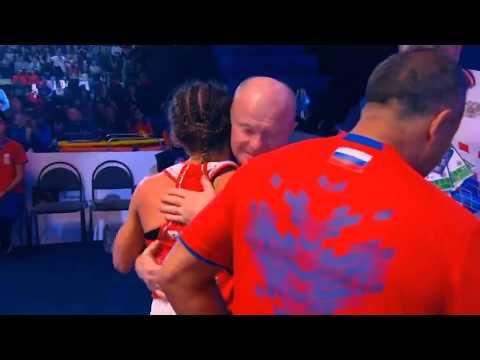 Лилия Аетбаева (Россия) VS  Бусеназ Чакироглу (Турция).Чемпионат мира  по боксу среди женщин 2019.