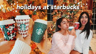 trying every starbucks holiday drinks and treats 2019