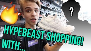 HYPEBEAST SHOPPING IN L.A. WITH A FAMOUS YOUTUBER!