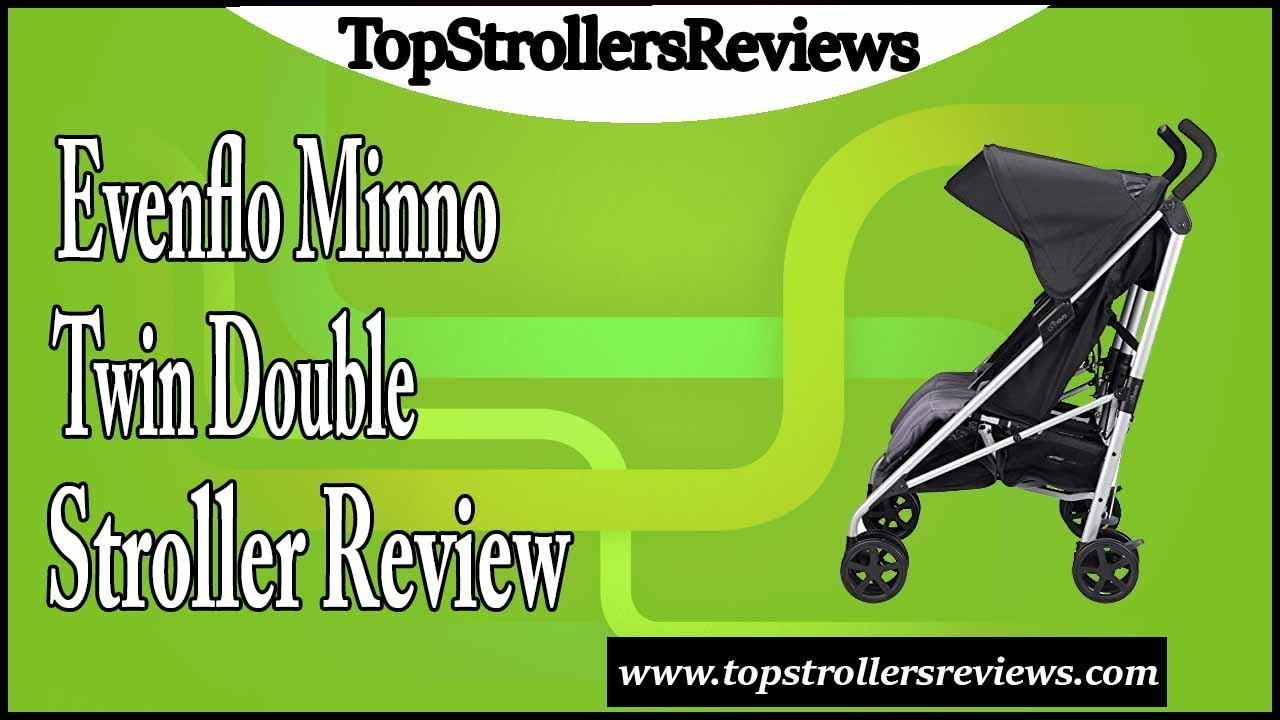 Evenflo Minno Twin Double Stroller Review