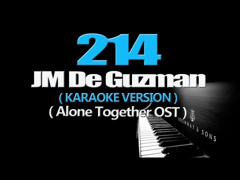 214 - JM De Guzman KARAOKE  Alone Together OST