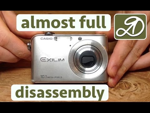 Casio EX Z1000 Complete Disassembly The Camera. DIY Repair Camera