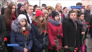 В Волгограде почтили память жертв теракта на железнодорожном вокзале