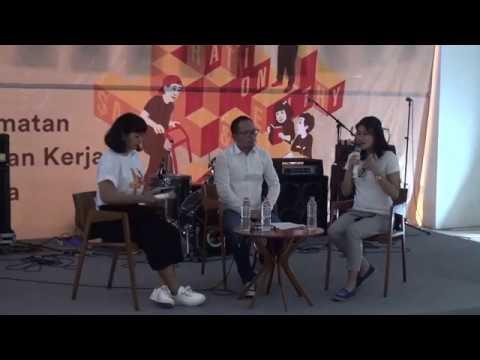 Dialog Interaktif Tentang K3 Antara Menteri Tenaga Kerja Dan Pemuda