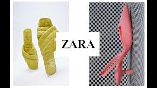 Шоппинг влог ZARA Новинки Обуви и Сумок на Лето