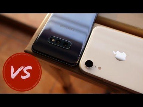 Samsung Galaxy S10e Vs iPhone XR - Fair Fight?