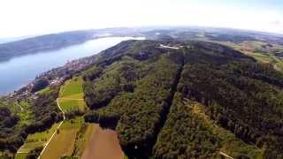 RC Pilatus B4 - Gewalt Modellbau auf Milanhöhe Blick auf Bodensee - Schweiz