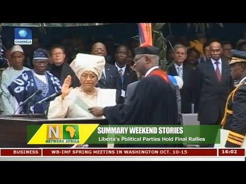 Liberia's Political Parties Hold Final Rallies | Network Africa |