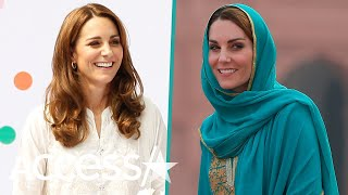Kate Middleton Rocks Two Vastly Different Outfits On Royal Tour Of Pakistan