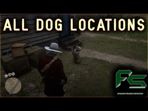 Red Dead Redemption 2 - All Dog Locations