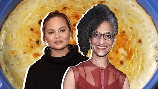 Chrissy Teigen Vs. Carla Hall: Whose Spinach Dip Is Better?