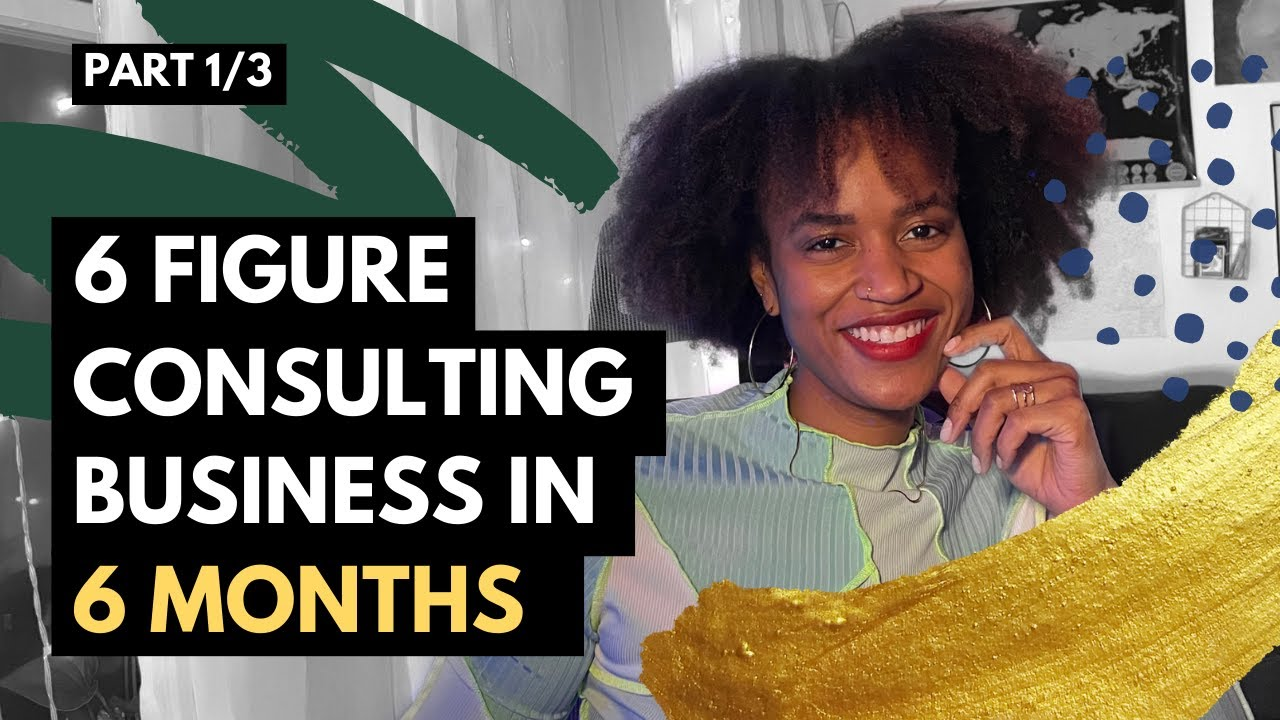 Part 1 of 3: How I Started a 6 Figure DEI Consulting Business in 6 months - Background Info