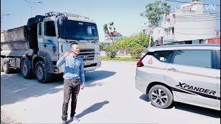 XEHAY - Mitsubishi Xpander kéo xe tải 24 tấn và cái KẾT
