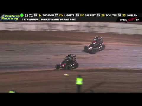 USAC Midget Feature Highlights | Ventura Raceway 11.22.18