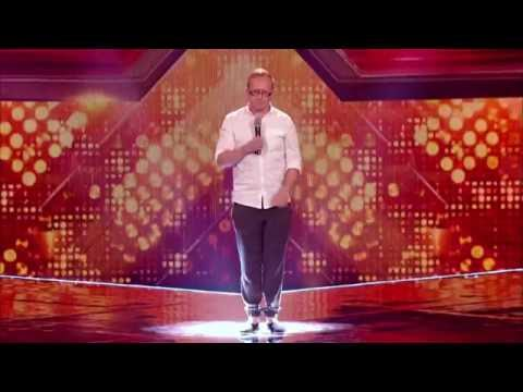 Simon Cowell's Words of Encouragement: Singing Librarian - THE X FACTOR UK 2016