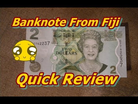 Banknote From Fiji Review