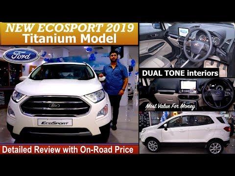 New Ford Ecosport 2019 Titanium Detailed Review With On Road Price | Ecosport Titanium 2019