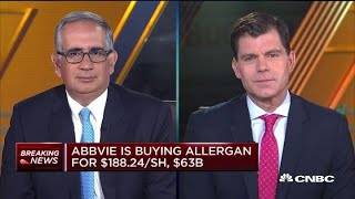 AbbVie-Allergan merger is just the beginning of more mergers, says market expert