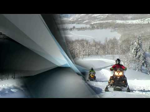Snowmobiling at Thousand Peaks near Park City Utah