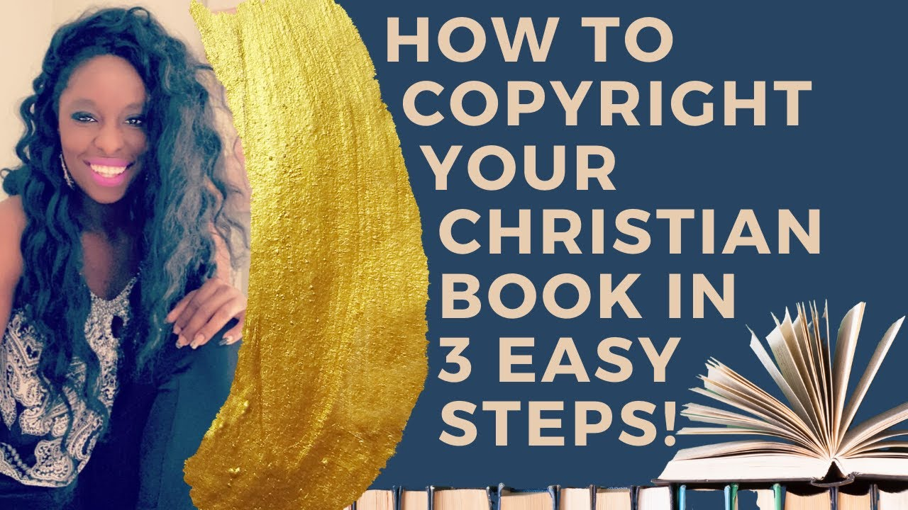 (Video) How to Copyright Your Book in 3 Steps!