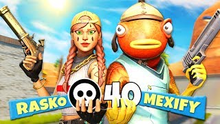 DUO vs SQUAD KILL REKORD in FORTNITE!?