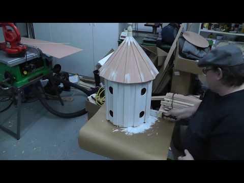Building a Folk Art Style Victorian Purple Martin Birdhouse